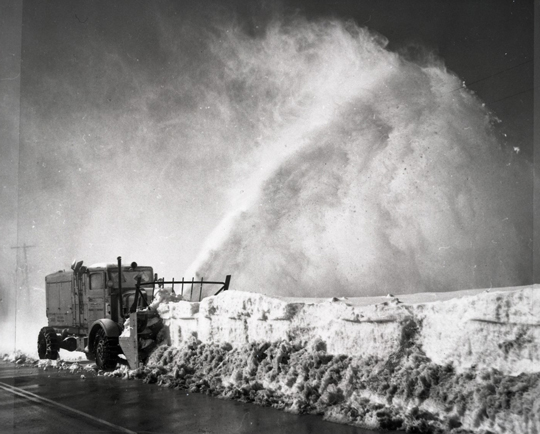 Snow removal - 1959