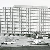 Hill Farms State Transportation Building completed - July 1964