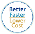 View BETTER, FASTER, LOWER COST performance report