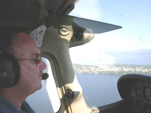 A nice view from a State Patrol aircraft.