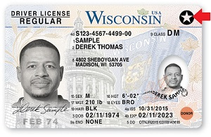 real ID license sample