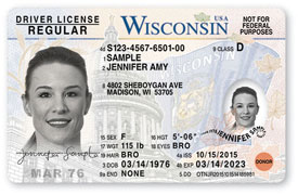The words not for federal purposes indicates card is not compliant with federal real id requirements