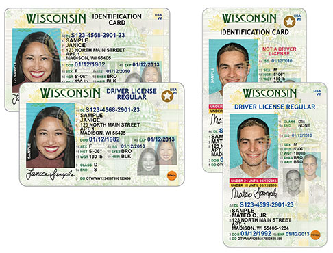 Government Dl And Official Wisconsin - Id Dmv Site Wi