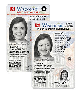 Location driver license florida real drivers license for Wisconsin drivers license template