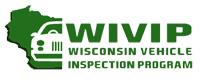 Wisconsin vehicle inspection program green logo