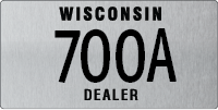 Dealer Cycle plate