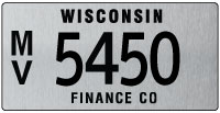 Finance company license plate issue 2011