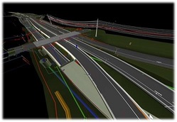 Wisconsin Department of Transportation 3D design in WisDOT projects