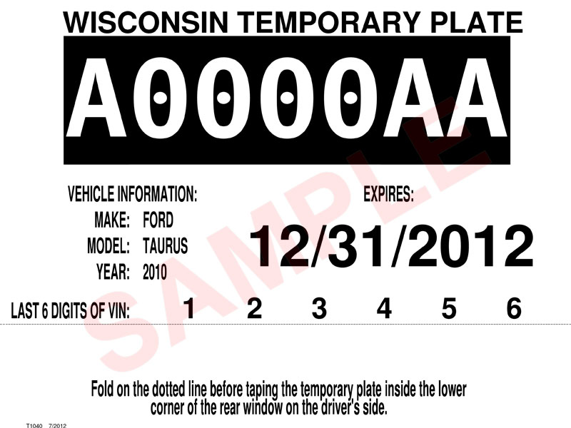 Wisconsin Dmv Official Government Site Title And Register Your