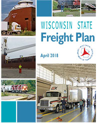 Cover of the Wisconsin State Freight Plan