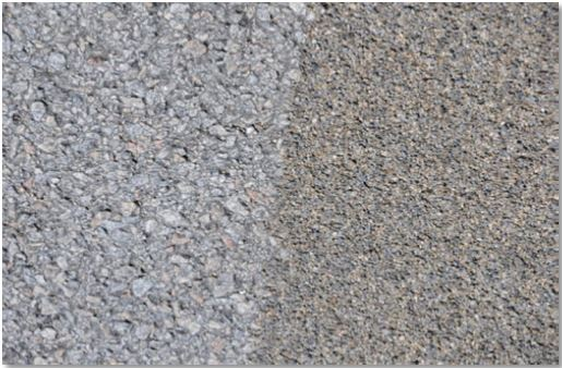 road surface textures