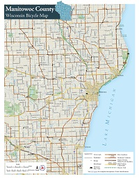 Wisconsin Department Of Transportation County Bicycle Maps - Wisconsin maps