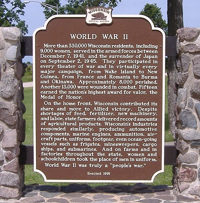 WWII historical marker