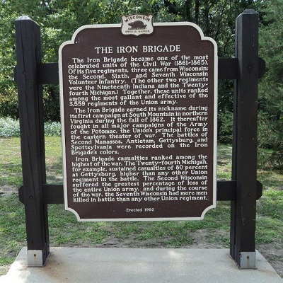 The Iron Brigade Historical Marker