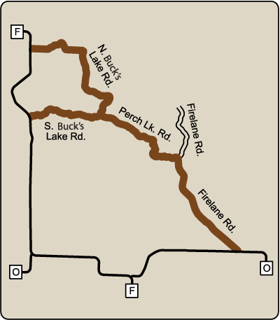 Map of Rustic Road 114