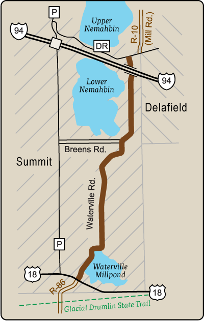 Map of Rustic Road 115