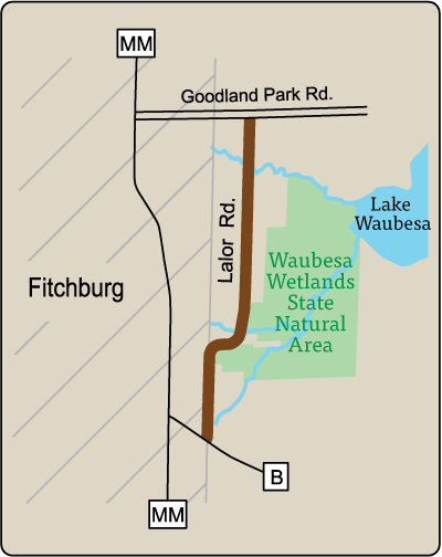 Map of Rustic Road 19