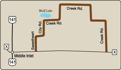 Map of Rustic Road 97